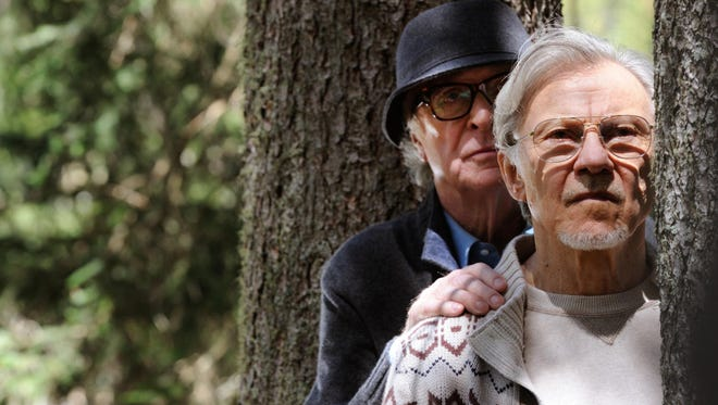 "Michael Caine and Harvey Keitel in ""Youth."""