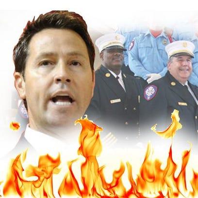Fire chiefs illustration.