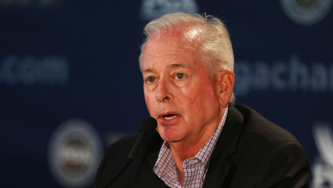 PGA president Ted Bishop  was fired after a tweet about Ian Poulter.