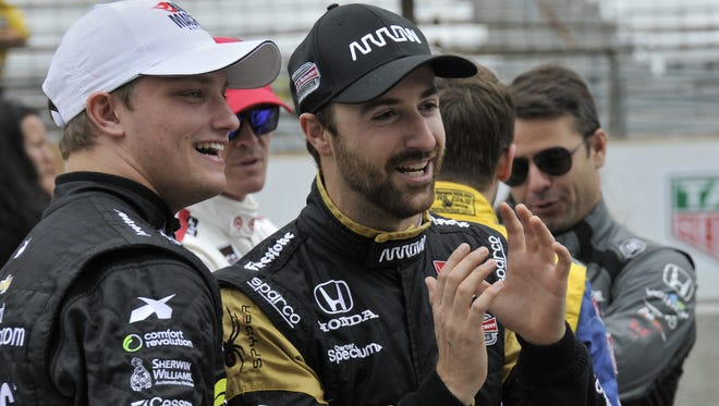 James Hinchcliffe is ready to see if his Honda stacks up with a Chevrolet car at this weekend's IndyCar open test at Phoenix.