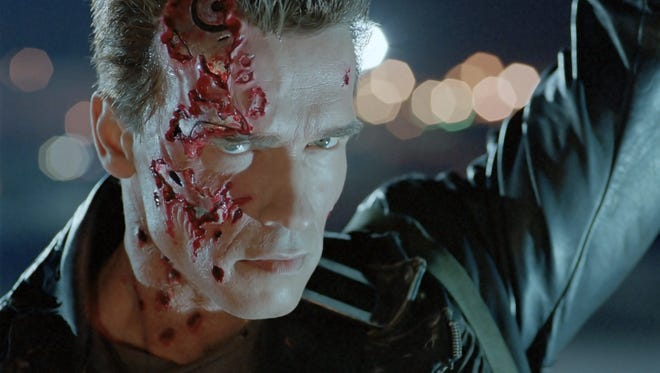 Arnold Schwarzenegger went good, really, in 'Terminator 2: Judgment Day.'