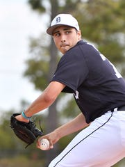 Pitcher Alex Faedo, the Tigers' top draft pick in 2017,
