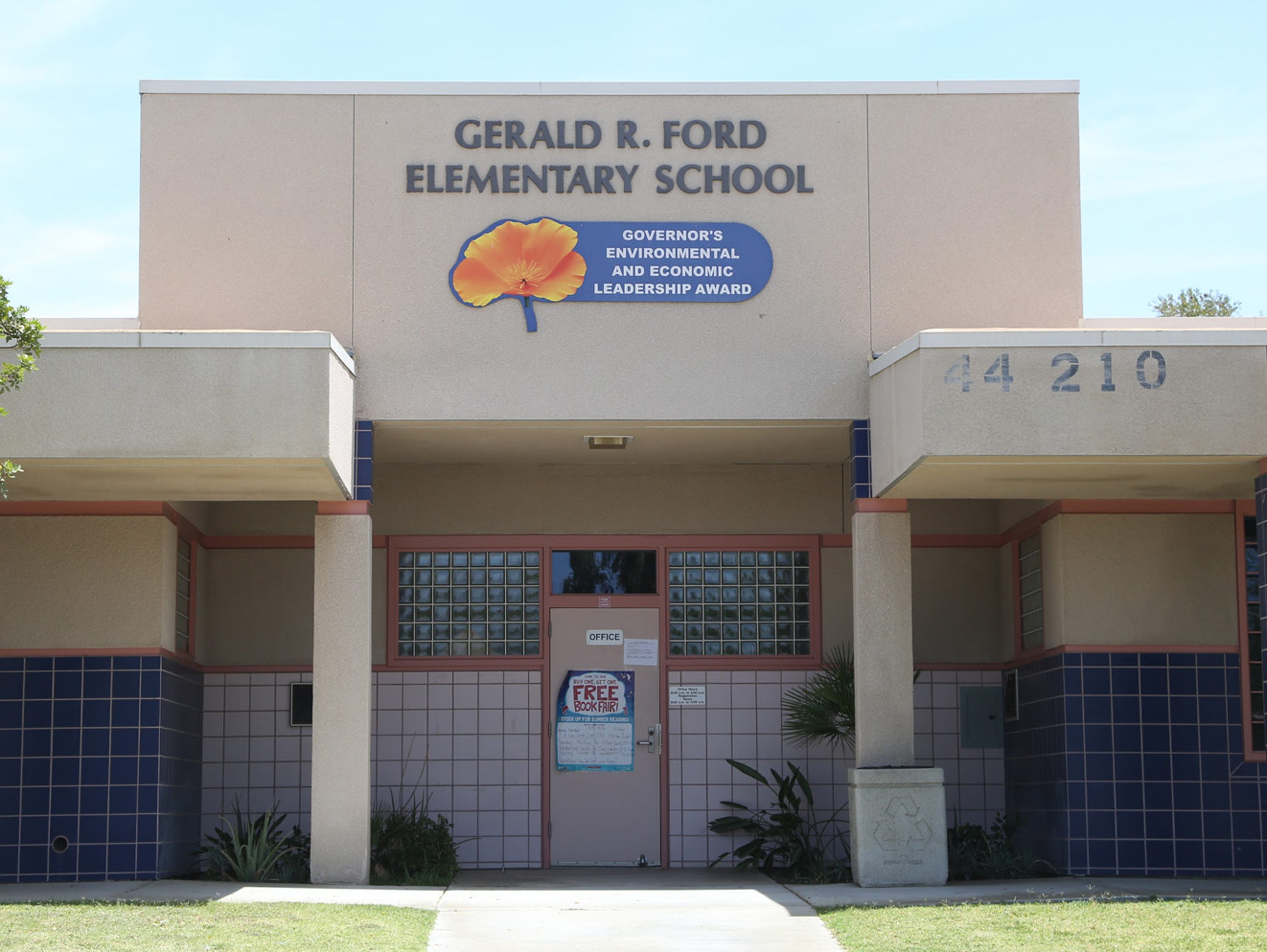 Robert Keith Bryan worked at Gerald Ford Elementary