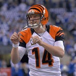 Andy Dalton threw a career-low 482 passes during the regular season, but a career-high interception rate of 3.5 percent.