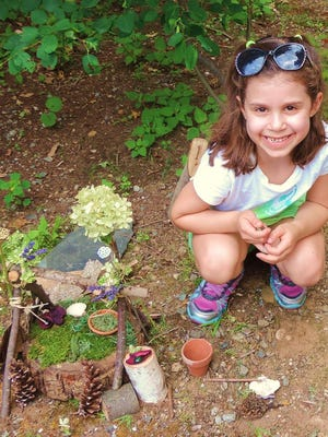 Children can build fairy houses during Fairy Day at Frelinghuysen Arboretum.