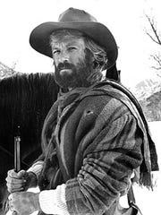 "Robert Redford in ""Jeremiah Johnson,"" a movie loosely"