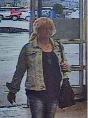 Staunton police believe this woman was involved in the theft of a wallet Saturday from the Staunton Wal-Mart.