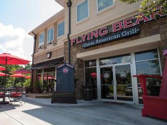 Flying Bear Great American Grill prides itself on its family atmosphere. The theme of the restaurant is bears and aviation.