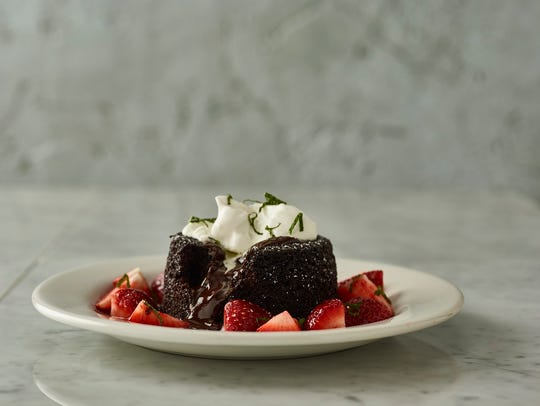 Bonefish Grill's Chocolate Lava Cake—rich chocolate