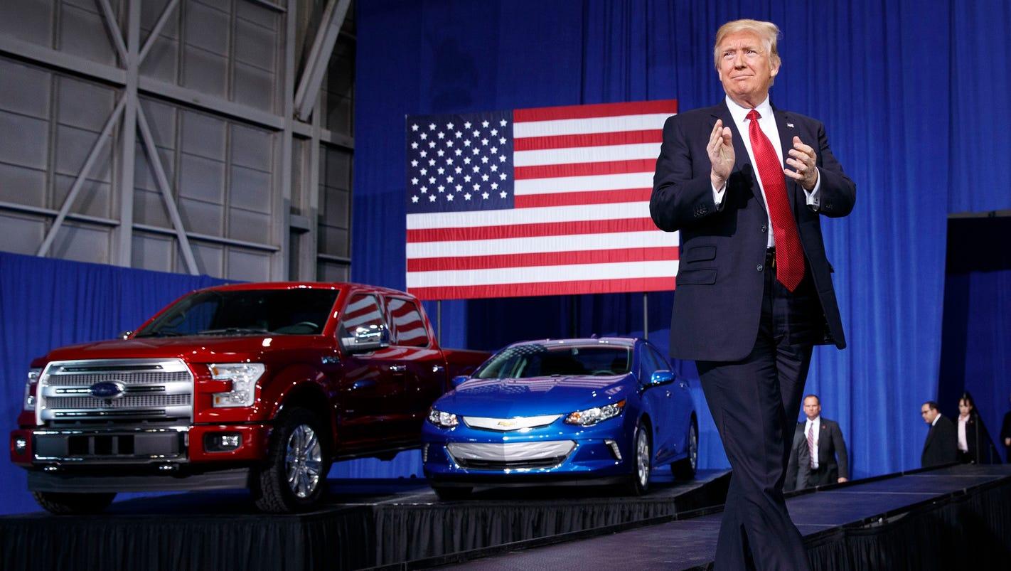 Trump, tweets couldn't save U.S. auto jobs in 2017