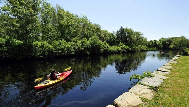 A scene from the Westport River