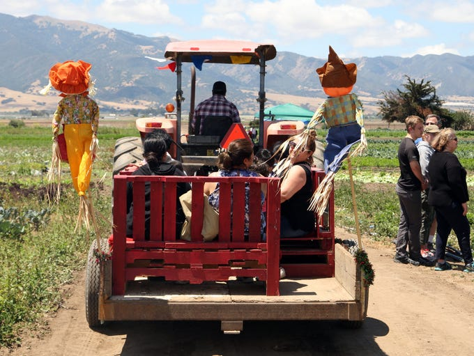 The ALBA tour heads out across the fields