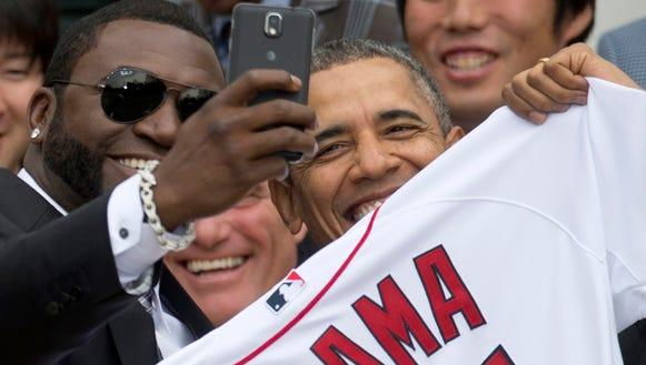 AP President-Samsung-Selfie
