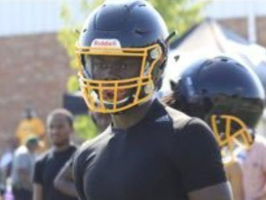 After being hurt last year Detroit King's Jalen McGaughy has impressed on both sides of the ball.