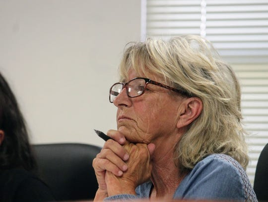 Otero County Commission Chairman Janet White proposed