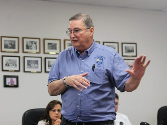 Alamogordo-White Sands Regional Airport Manager Jim Talbert provided brief updates on the airport to Otero County Commissioners at their March 8 meeting.