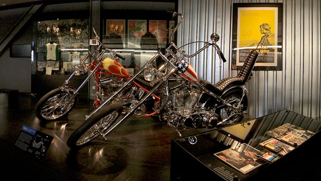 The Easy Rider film fueled a growing chopper culture.
