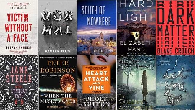 Carole E. Barrowman's list of the best mysteries of 2016 includes books by Elizabeth Hand and Warren Ellis.