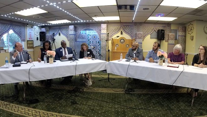 Delaware's Attorney General candidates faced off on Monday night in a debate hosted by the Delaware Council on Global and Muslim Affairs.