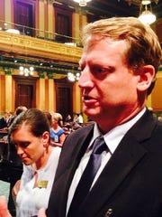 House Minority Leader Tim Greimel