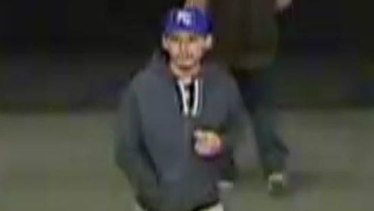 Authorities are looking for information about this man, who they believe robbed two drugstores in Camarillo.