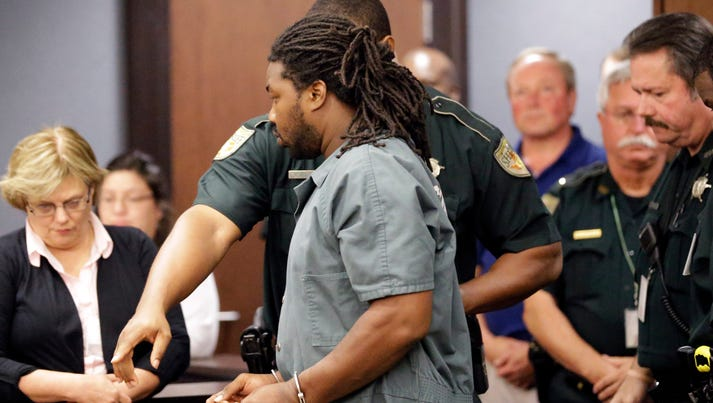 Jesse Leroy Matthew Jr. is escorted into a courtroom