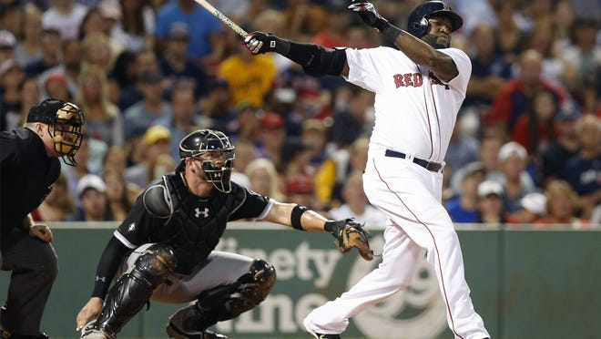 David Ortiz does his  Big Papi thing in a classic game, which many people are rewatching until sports return.