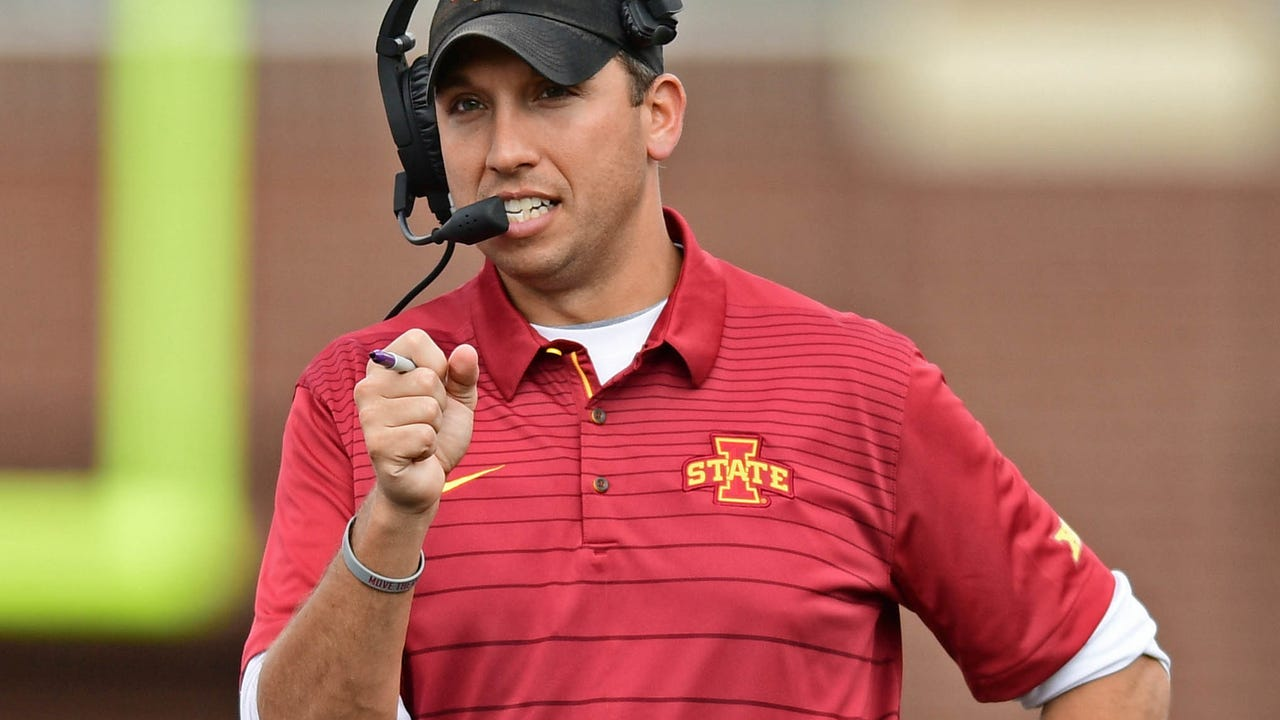 Matt Campbell on whether he would support player protest