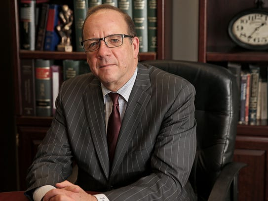 May 11, 2018 Attorney John A. Birdsall in his law office