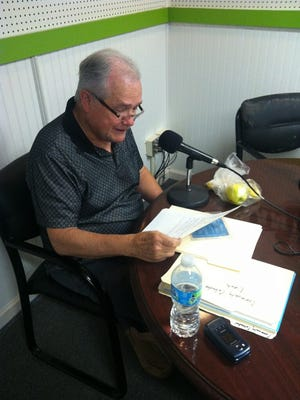 Rev. Donnie Craig hosting his last Friendly Neighbor Time Show on WDKN on Friday last week.
