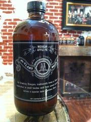 McClary Bros. Drinking Vinegar in Michigan Apple Pie, $18.