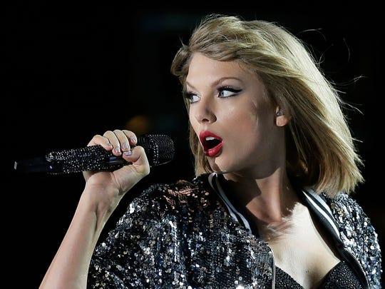 Taylor Swift nabbed 7 Grammy nominations.