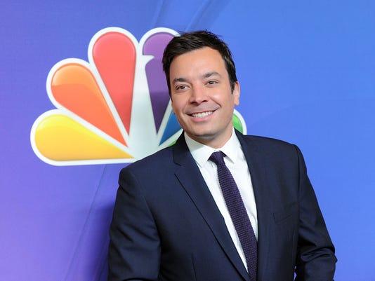 AP TV-NBC-FALLON A ENT FILE USA NY