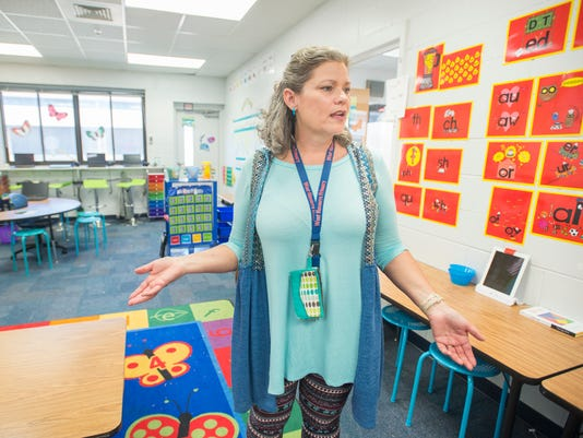 overcrowded Navarre schools