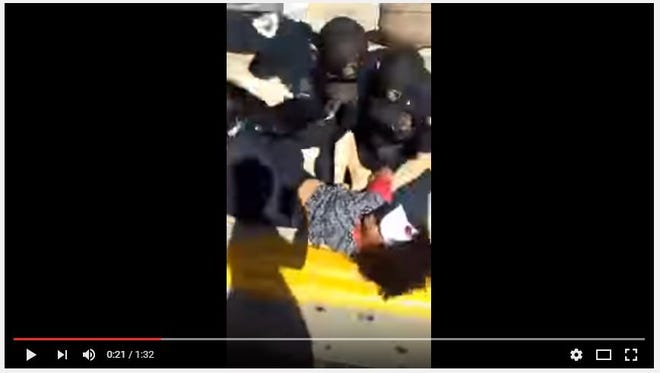 A YouTube video of an arrest by Madison police has gone viral.