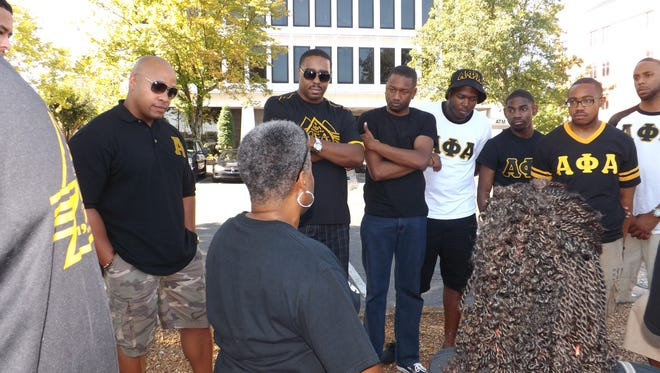 """Hundreds of local young males will have the opportunity to talk """"man-to-man"""" about issues of sexuality Saturday as they take part in a daylong workshop sponsored by the Omicron Sigma Lambda chapter of Alpha Phi Alpha Fraternity Inc. and the March of Dimes."""