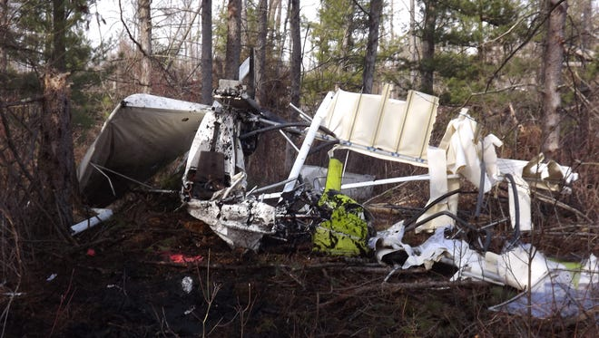 The Waushara County Sheriff's Office responded March 12, 2016, to a report of a plane crash in a swampy area along 21st Court in the town of Marion. The pilot was flown to Theda Clark Medical Center in Neenah for non-life threatening injuries.