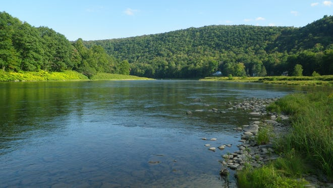 The Catskill River provides some spectacular scenery.