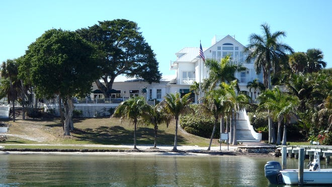 The tour delves into the history of world-famous Useppa Island. The Collier Inn is pictured.