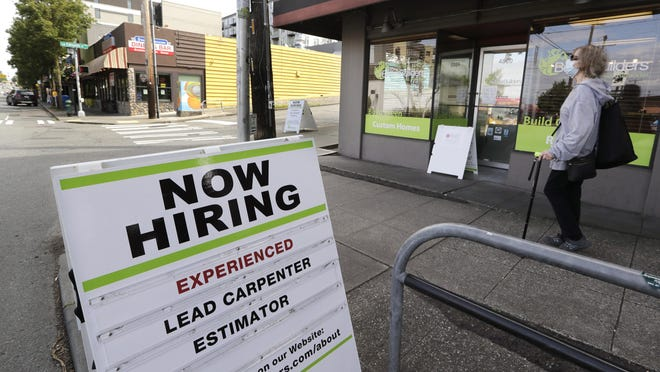 Summit County's unemployment rate dropped to 5.4% in August, the state reported Tuesday.