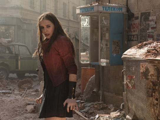 """""""Avengers: Age of Ultron"""" introduced Scarlet Witch"""