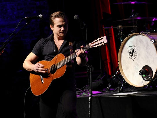 Hunter Hayes performs onstage at T.J. Martell Foundation's