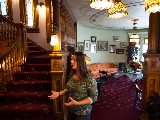 Bundy Museum Director of Development Janna Rudler says