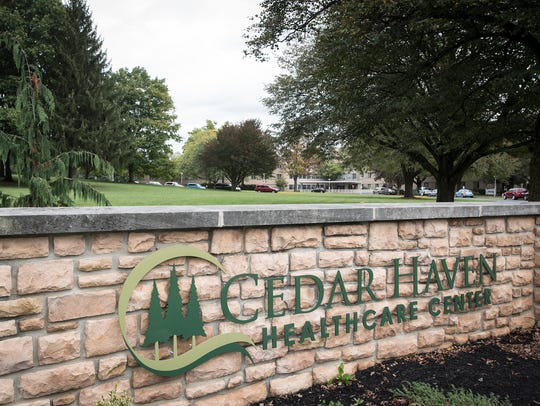 Employees at Cedar Haven Healthcare Center are threatening