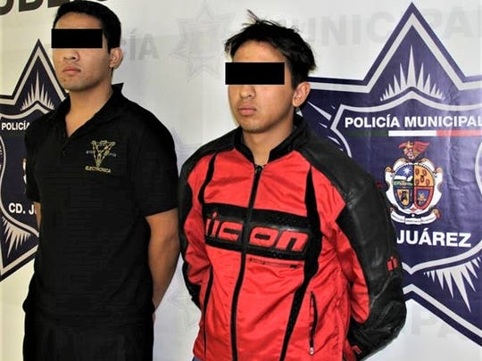 Javier Emilio C.M. and Jesus Felipe A.C. are accused of being hit men for La Linea crime organization.