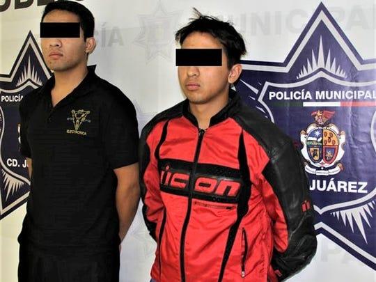 Javier Emilio C.M. and Jesus Felipe A.C. are accused of being hit men for La Linea crime organization.