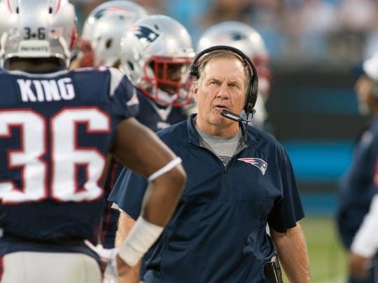 Head coach Bill Belichick has led the Patriots to a