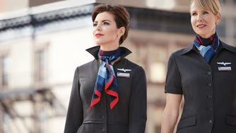 American Airlines' flights attendants will get new uniforms in this design.