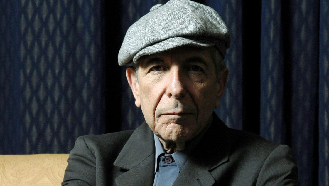Stars pay tribute to Leonard Cohen with quotes and notes on Twitter