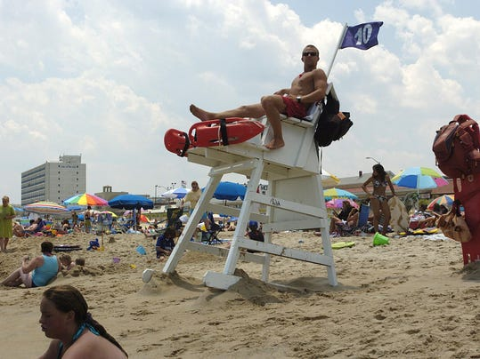 4 of 7 missing rehoboth lifeguard stands found in ocean for Rehoboth beach fishing